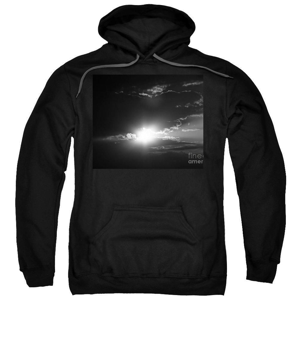 Black Sweatshirt featuring the photograph Apocalypse by Lali Kacharava