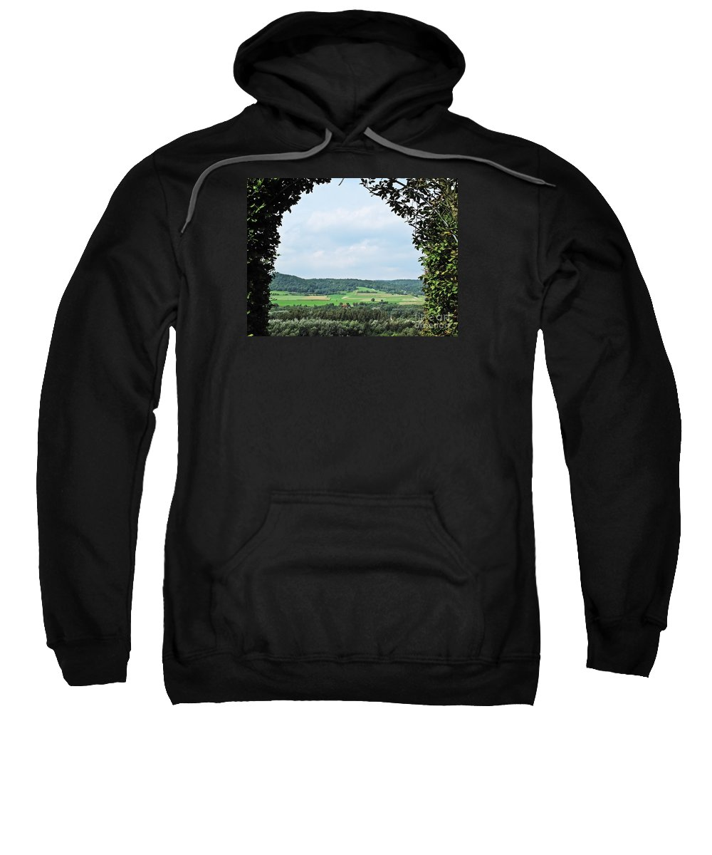 Travel Sweatshirt featuring the photograph Arch To Austria by Elvis Vaughn