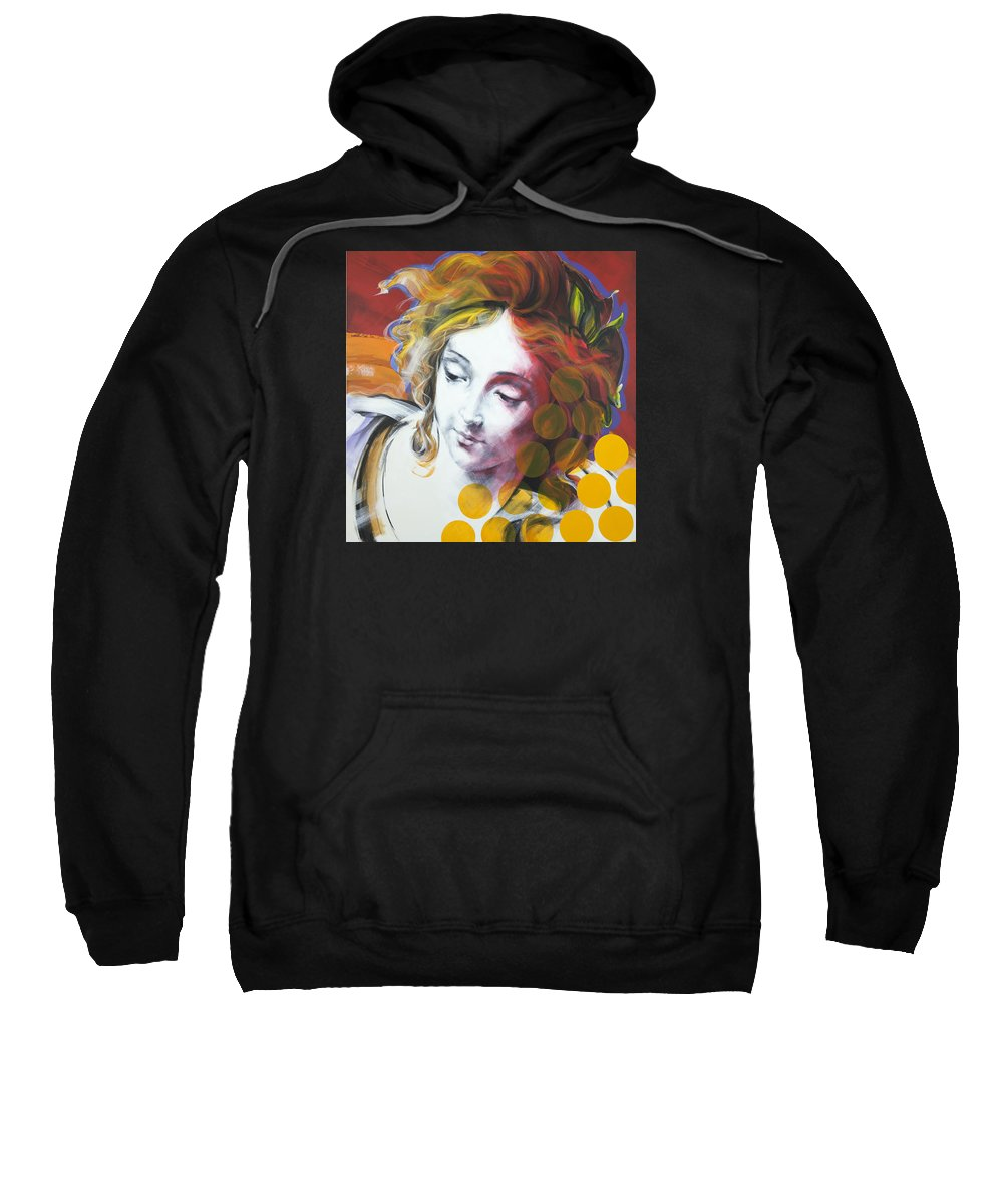 Pop Sweatshirt featuring the painting Archangel Michael by Jean Pierre Rousselet