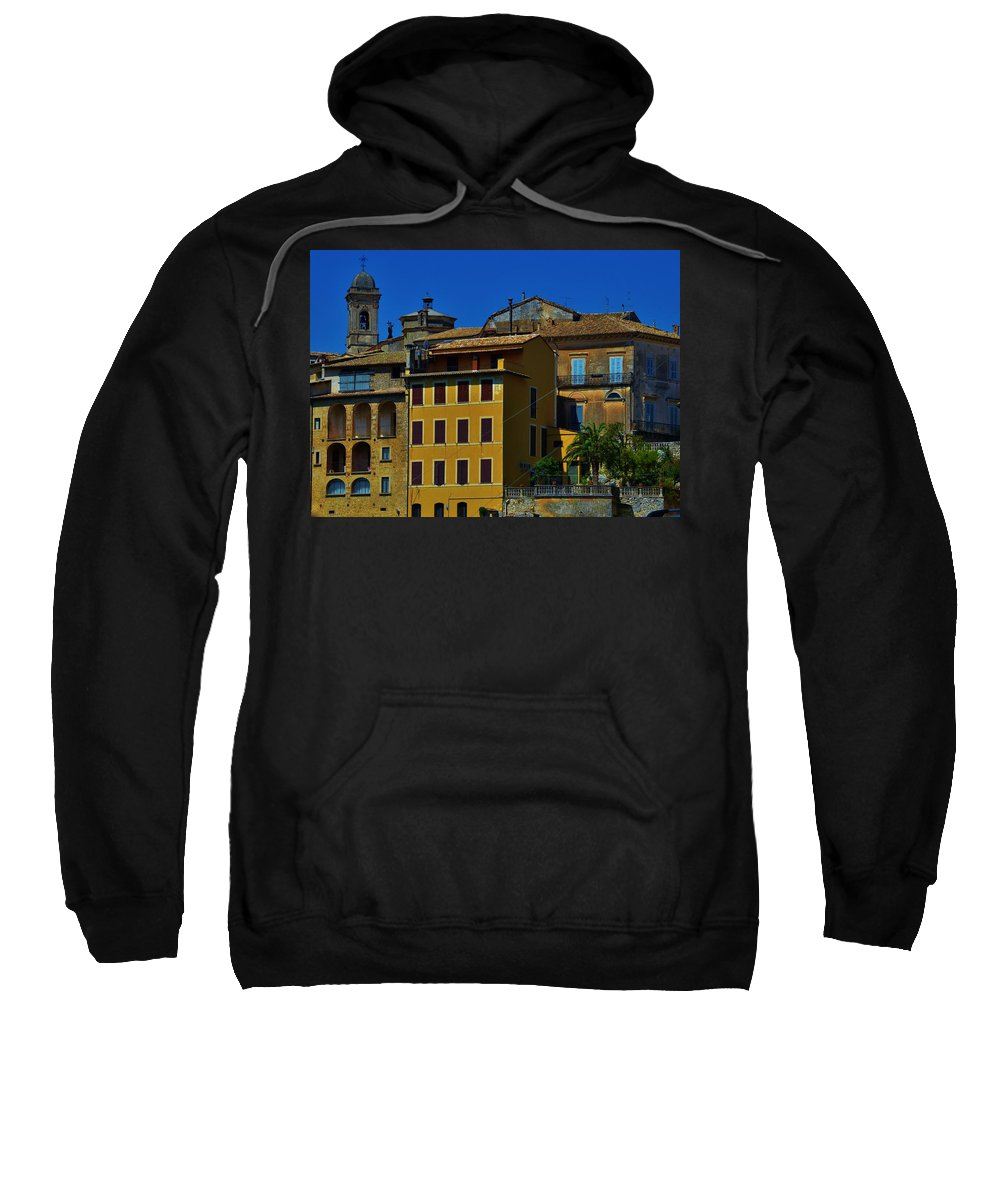 Arpino Sweatshirt featuring the photograph Arpino by Dany Lison
