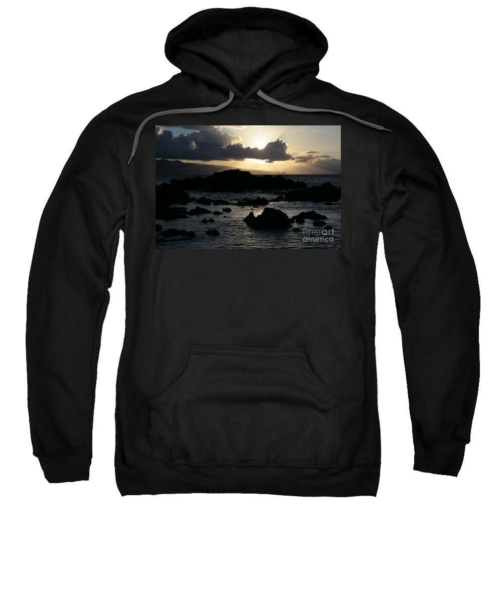 Aloha Sweatshirt featuring the photograph As Once The Winged Energy by Sharon Mau