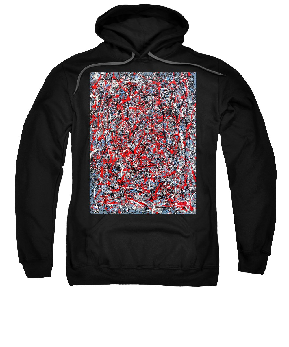 Abstract Sweatshirt featuring the painting Astral Gate 2001 by RalphGM