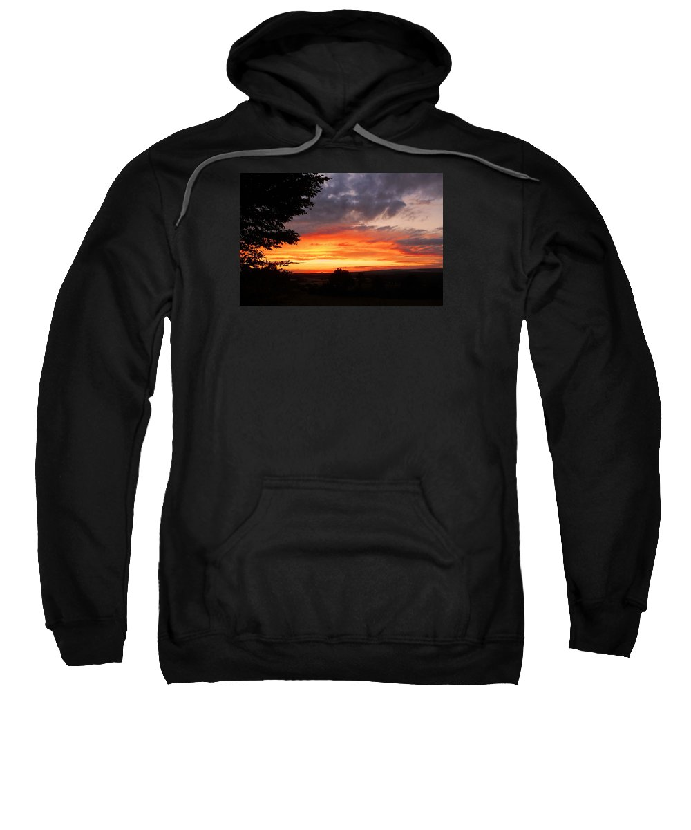 Europe Sweatshirt featuring the photograph At The End Of The Day ... by Juergen Weiss