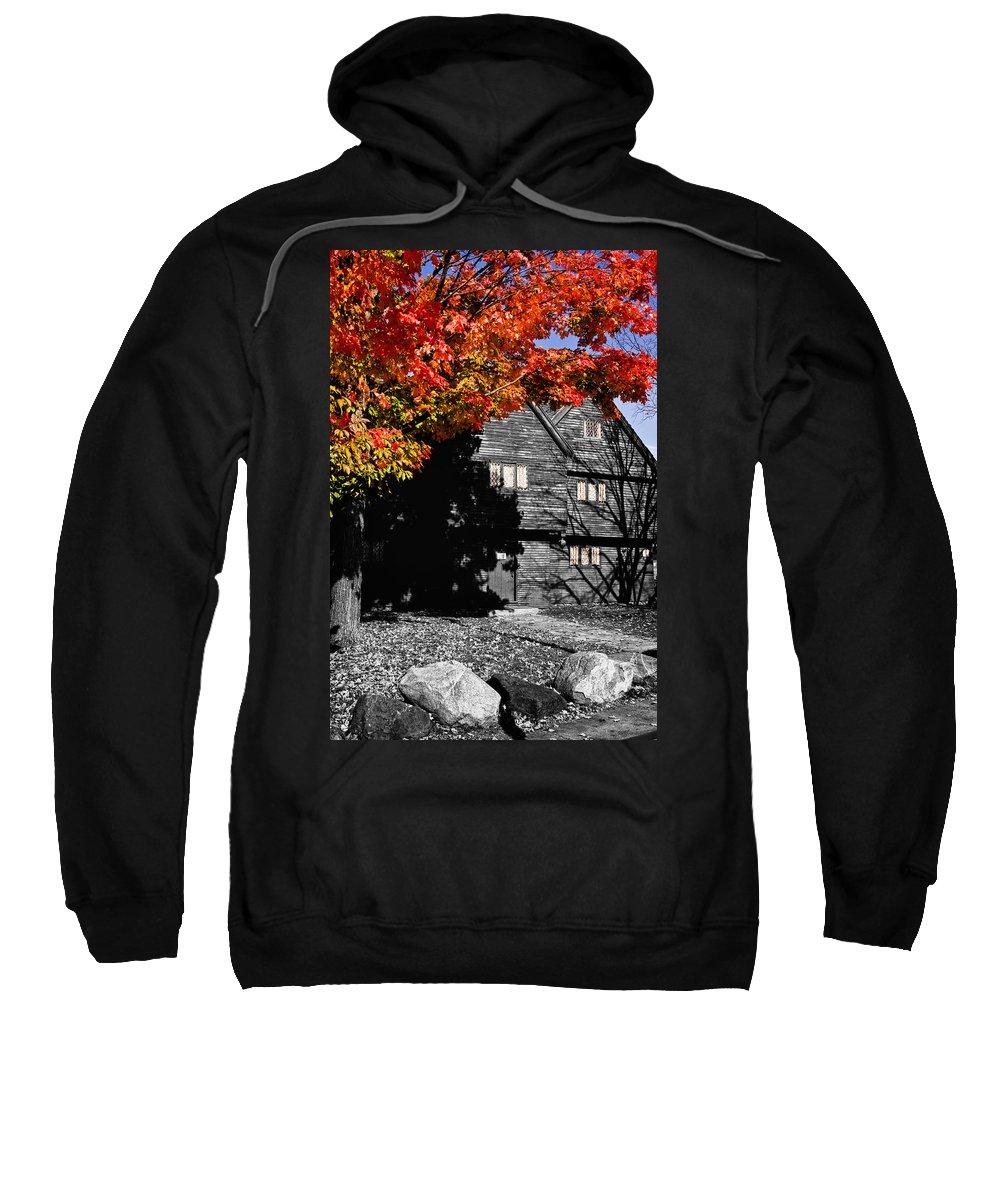 Salem Sweatshirt featuring the photograph Autumn In Salem by Jeff Folger