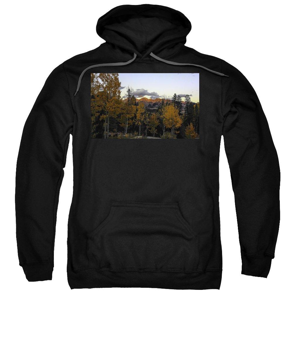 Landscape Sweatshirt featuring the photograph Autumn Sunset by Bill Sherrell