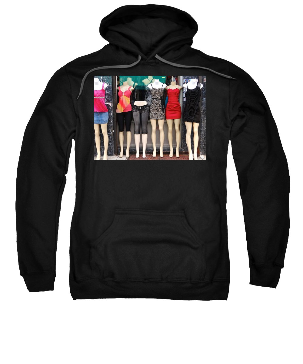 Sexy Outfits Sweatshirt featuring the photograph Back To School by Ira Shander