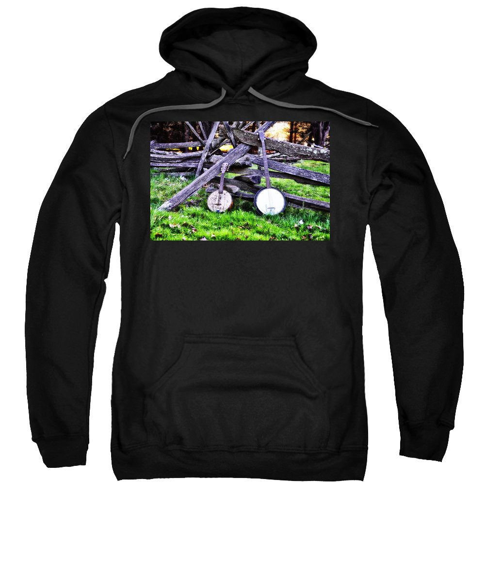 Backwoods Sweatshirt featuring the photograph Backwoods Music by Bill Cannon