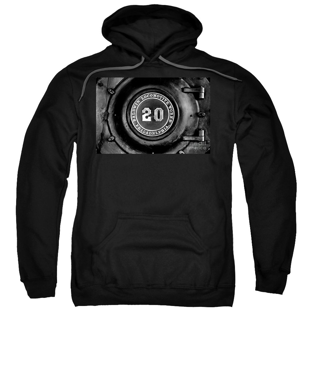 20 Sweatshirt featuring the photograph Baldwin 20 - Bw by Paul W Faust - Impressions of Light