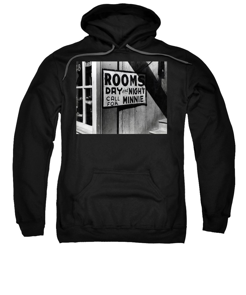 Marion Wolcott Sweatshirt featuring the digital art Beale Street Hotel Memphis Tennessee by Marion Wolcott