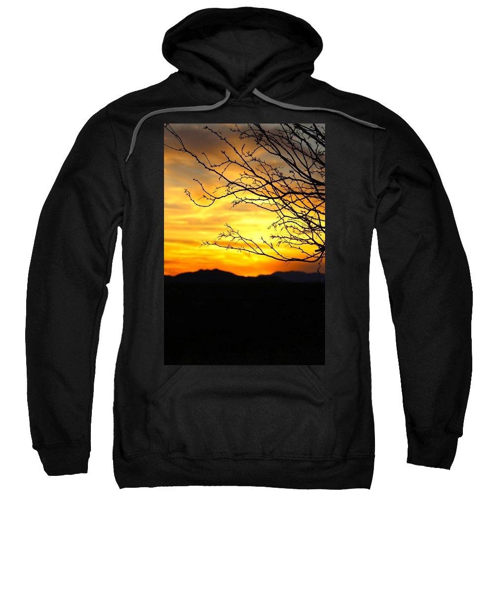 Sunset Sweatshirt featuring the photograph Beauty by Tiffany Erdman