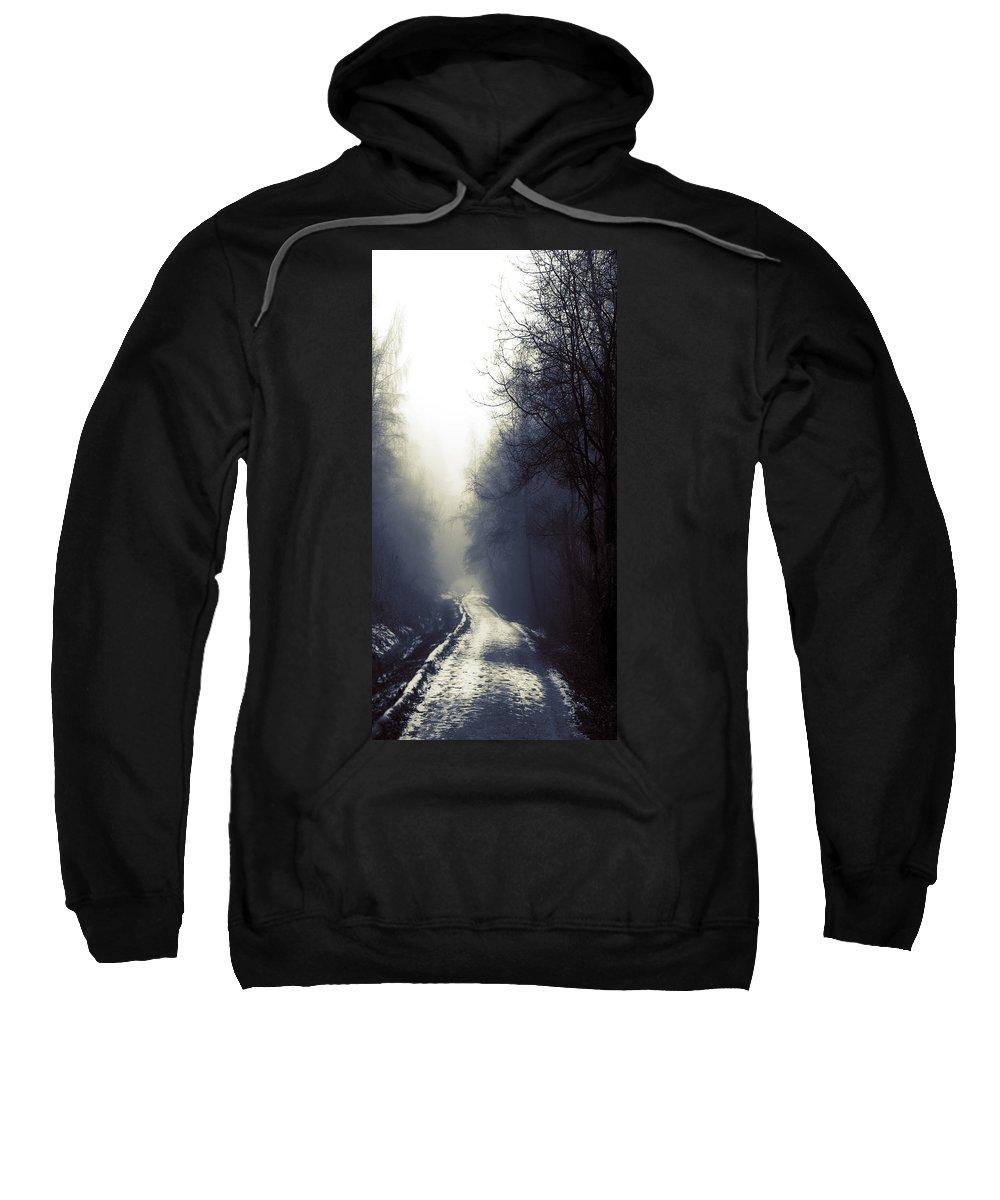 Lisa Knechtel Sweatshirt featuring the photograph Beyond by Lisa Knechtel