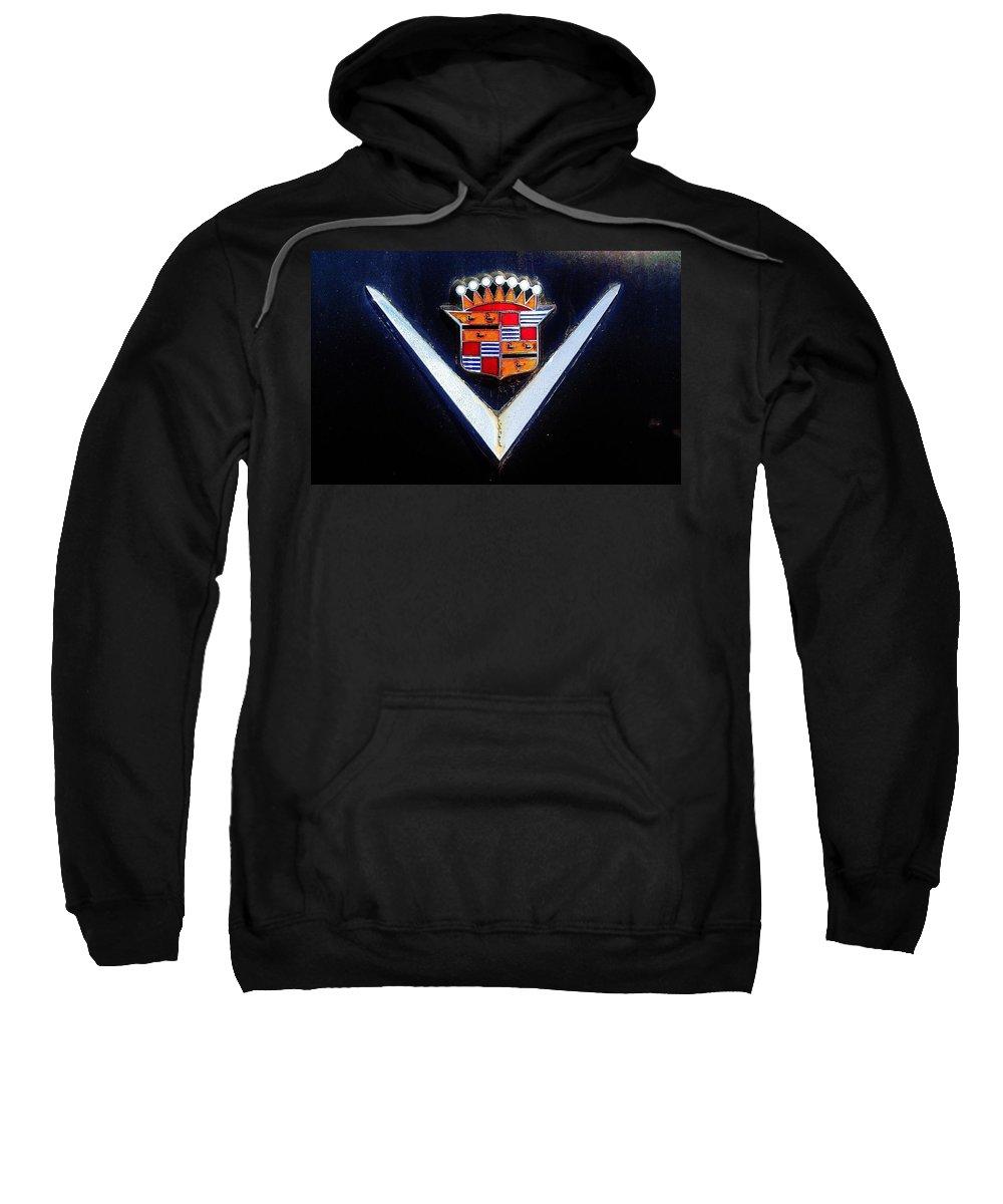 Black Caddy Sweatshirt featuring the photograph Black Caddy by Daniel Thompson
