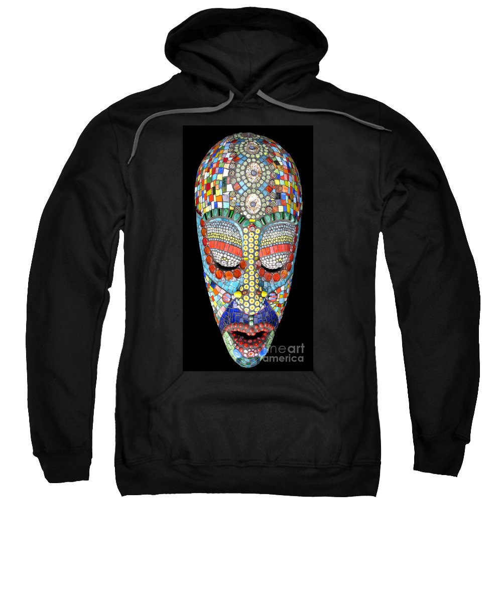 African Sweatshirt featuring the photograph Bob Why The Long Face by Valerie Fuqua