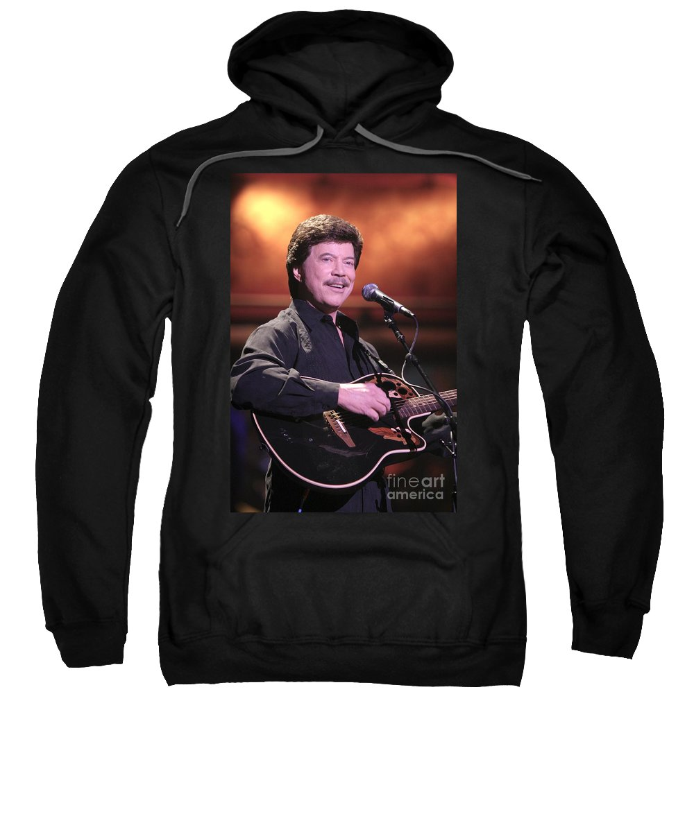 Country Sweatshirt featuring the photograph Bobby Goldsboro by Concert Photos