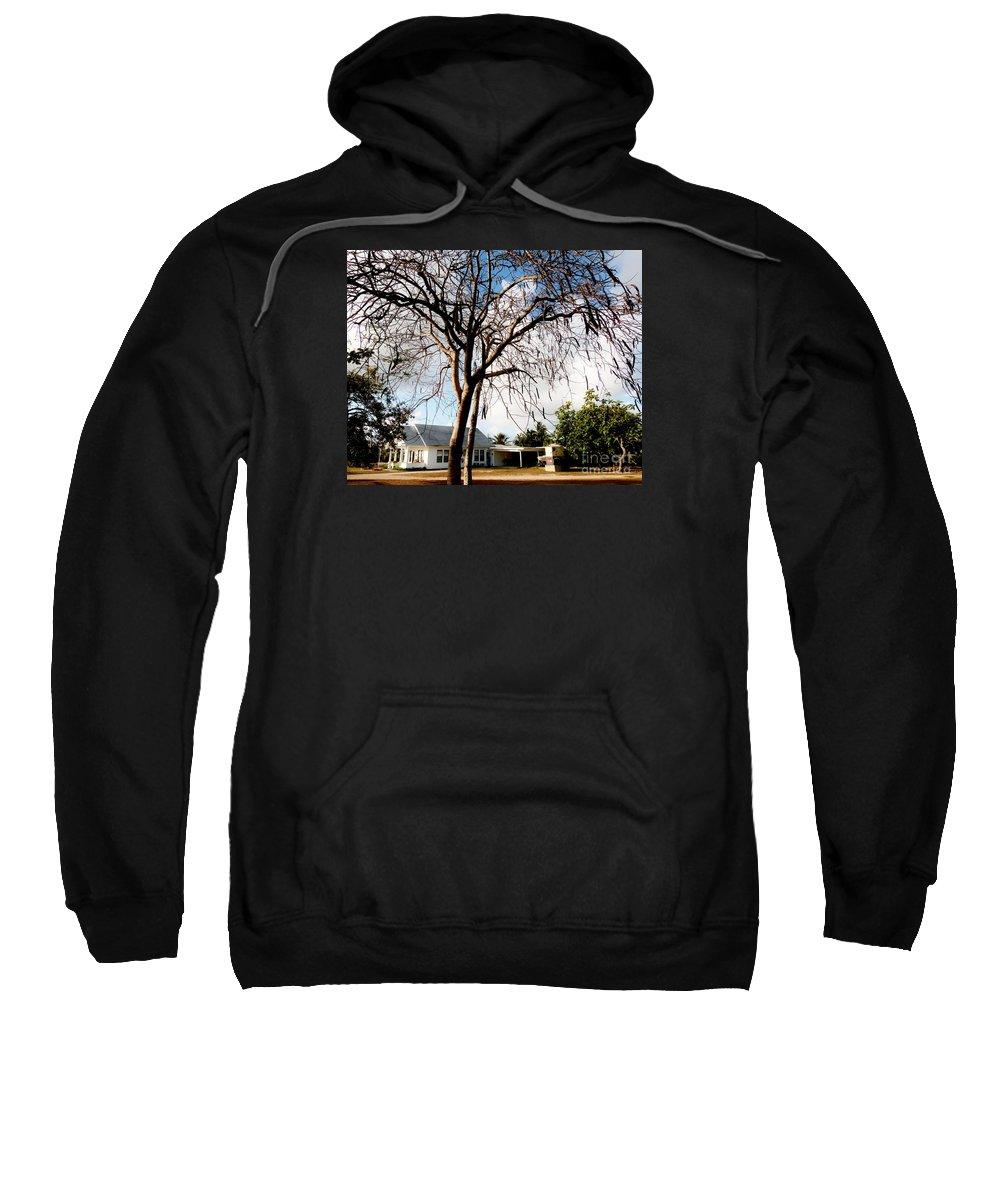 Bodden House Sweatshirt featuring the photograph Bodden House 2 by Amar Sheow