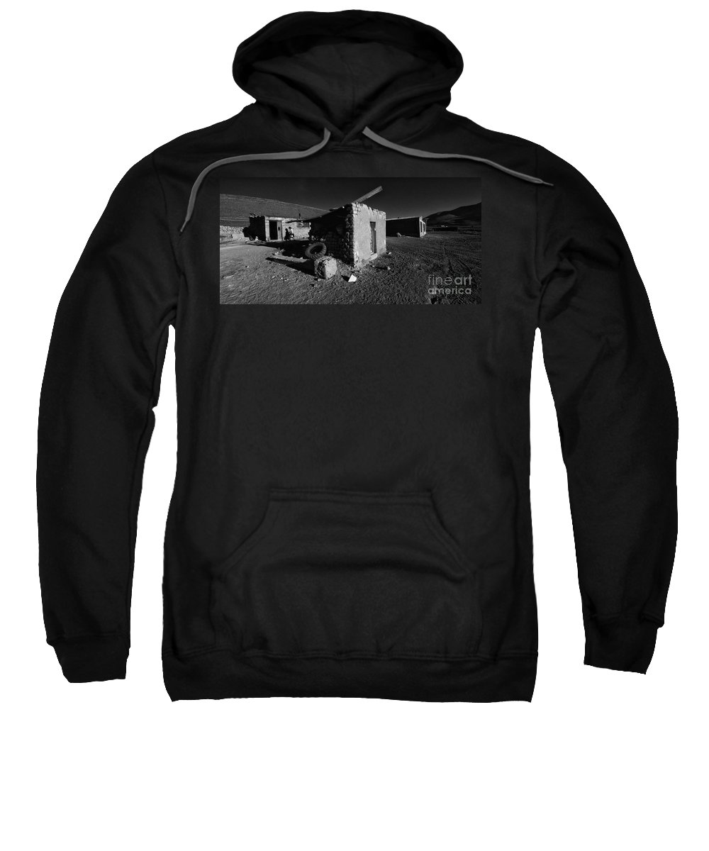 Bolivia Sweatshirt featuring the photograph Bolivia By Moonlight by Bob Christopher
