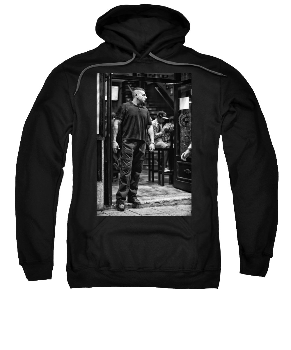 Bouncer Sweatshirt featuring the photograph Bouncer by Pablo Lopez