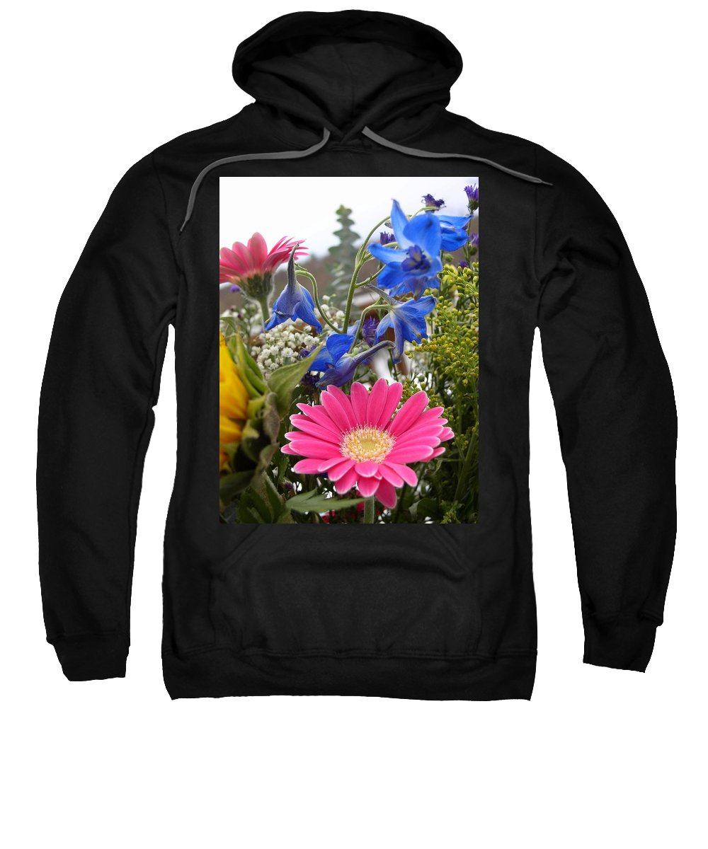 Bouquet Sweatshirt featuring the photograph Bouquet by Natalie Rotman Cote