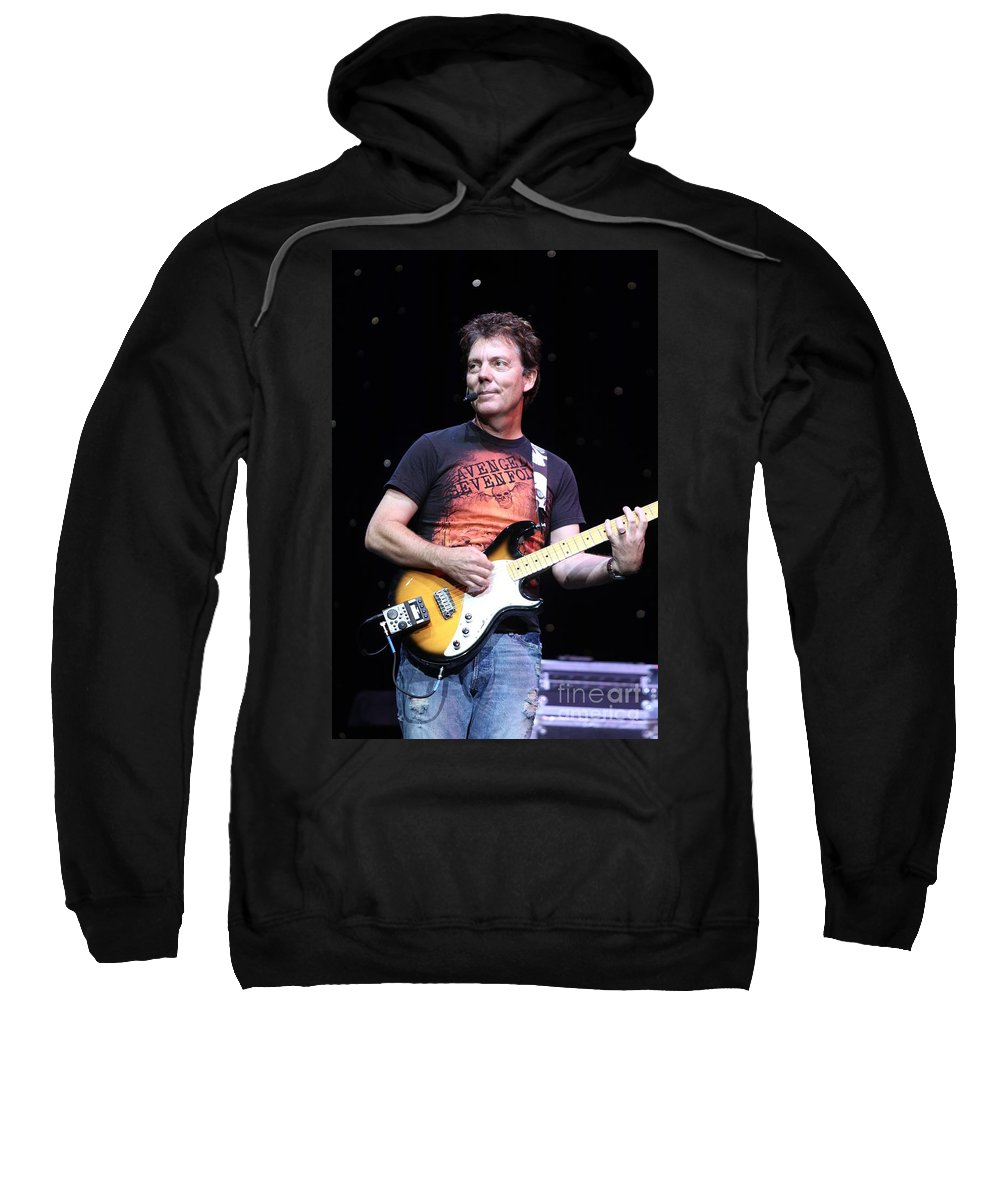 Singer Sweatshirt featuring the photograph Brian Haner by Concert Photos