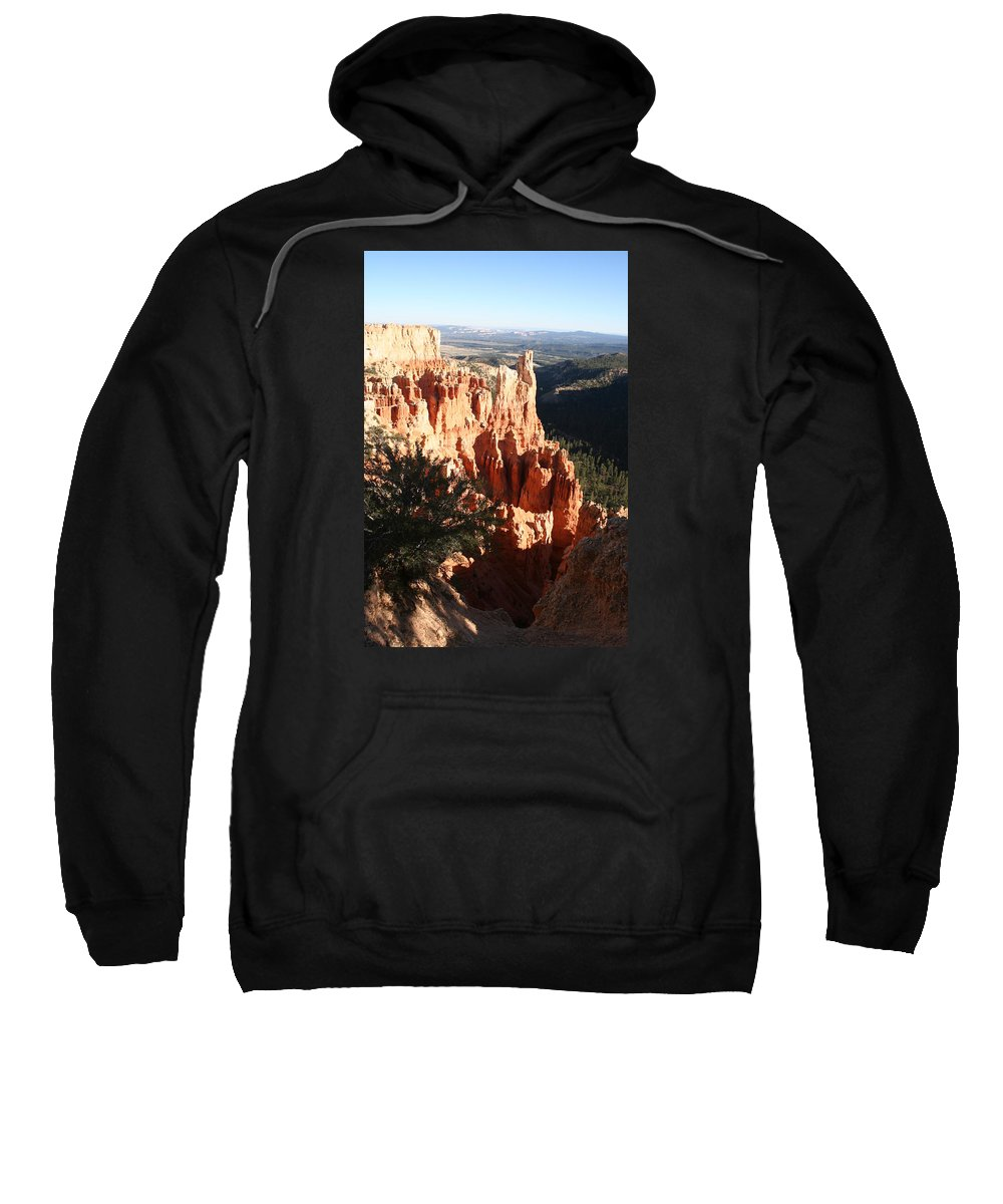 Canyon Sweatshirt featuring the photograph Bryce Canyon Landscape by Christiane Schulze Art And Photography