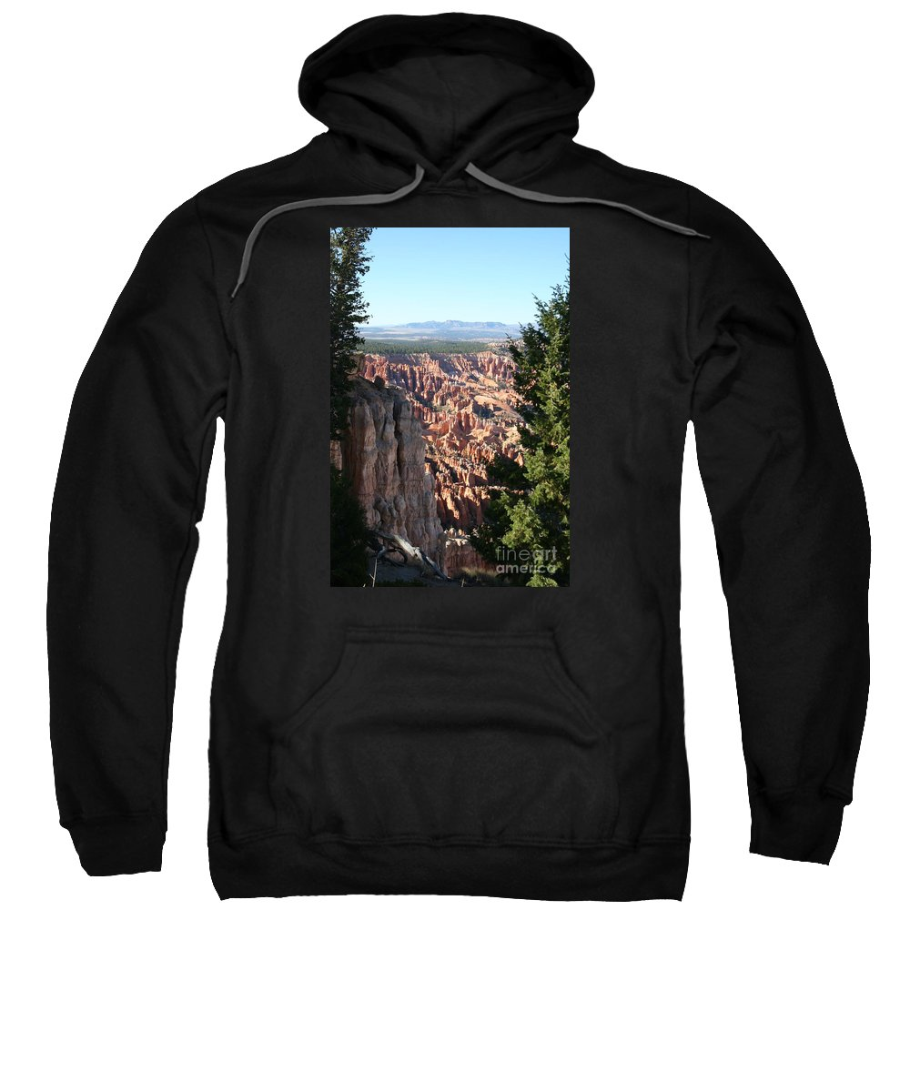 Canyon Sweatshirt featuring the photograph Bryce Canyon Overview by Christiane Schulze Art And Photography