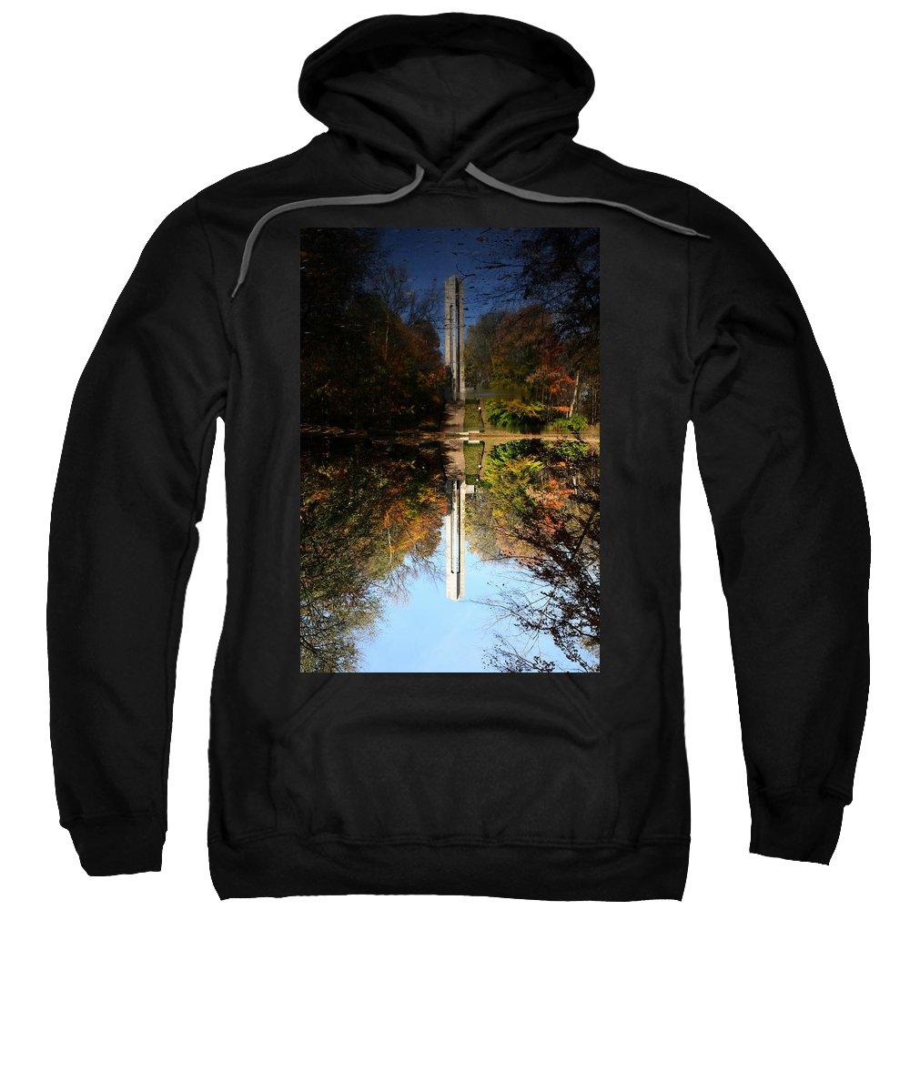 Butler University Sweatshirt featuring the photograph Butler University Carillon 2 by Dan McCafferty