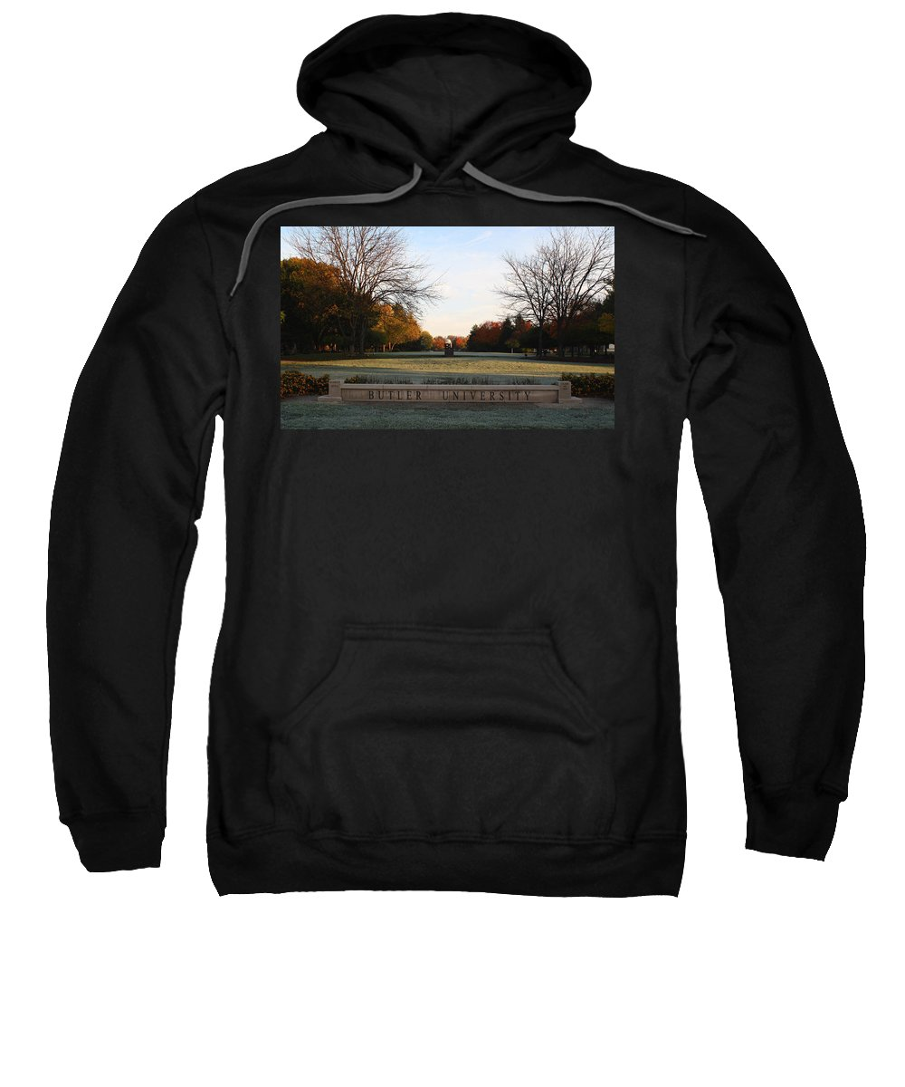 Butler University Sweatshirt featuring the photograph Butler University Mall by Dan McCafferty