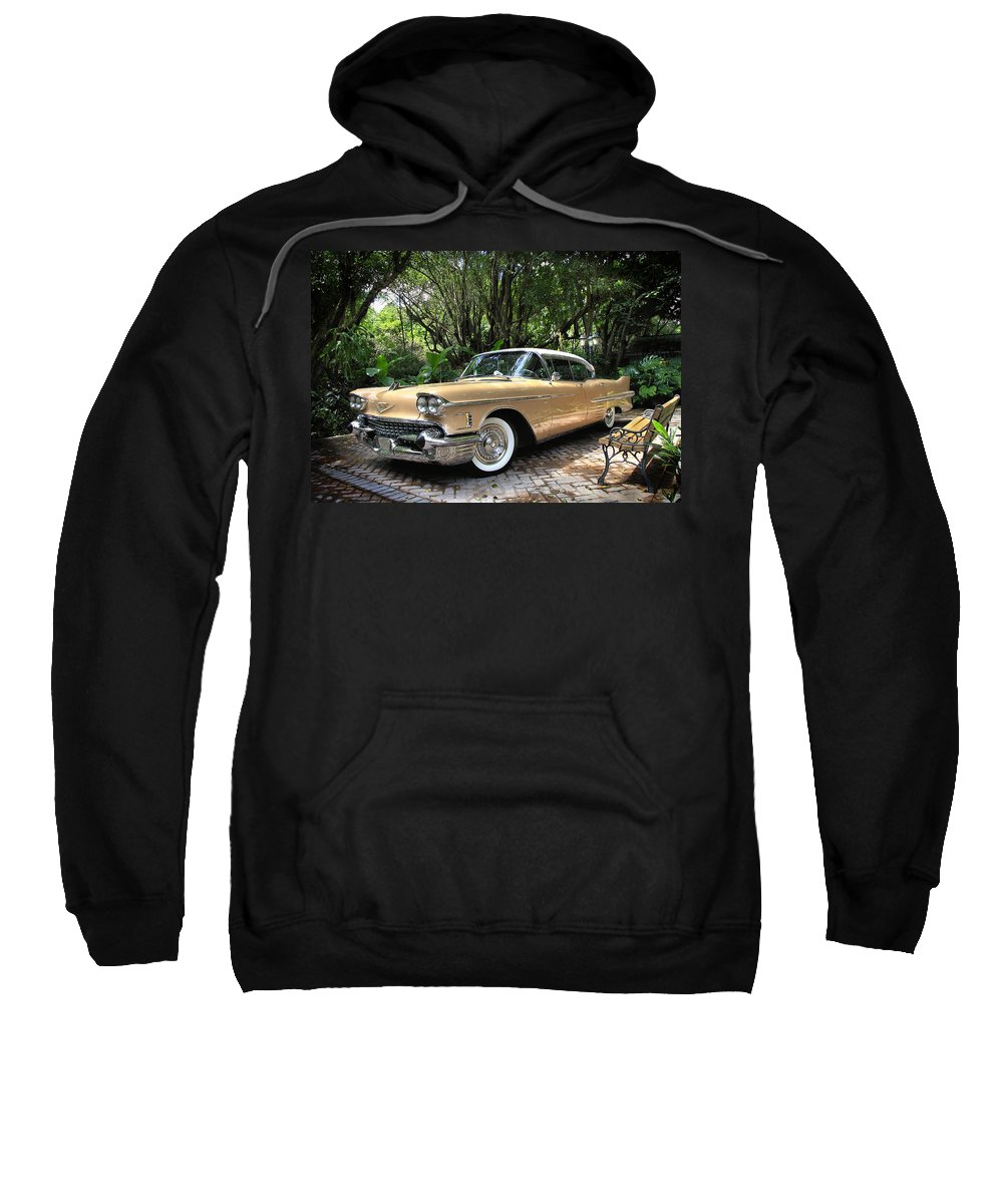 Cadillac Sweatshirt featuring the photograph Cadillac by Rudy Umans