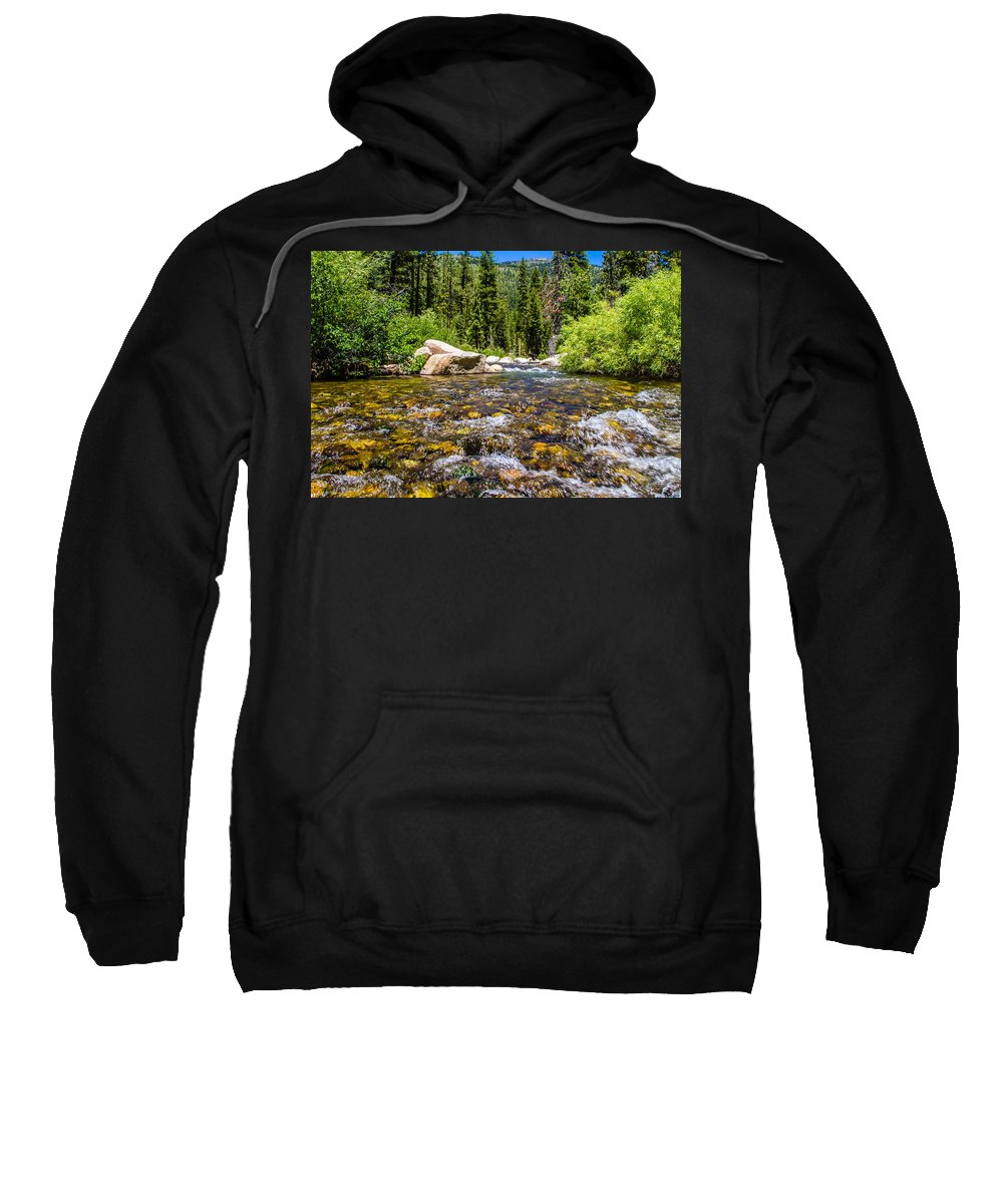 Yosemite Sweatshirt featuring the photograph Can You Hear Me by Brian Williamson