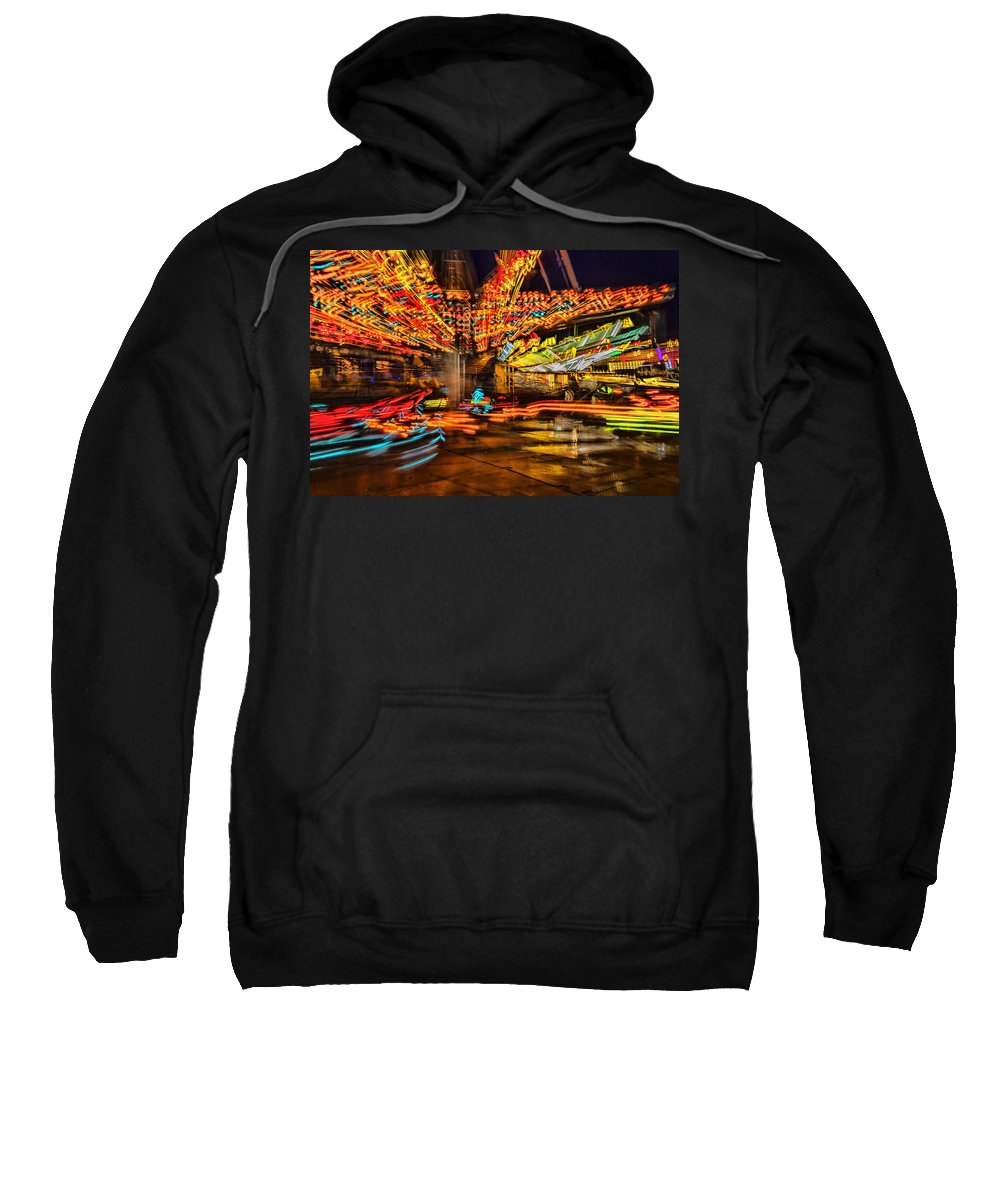 County Fair Sweatshirt featuring the photograph Carnival by Diana Powell