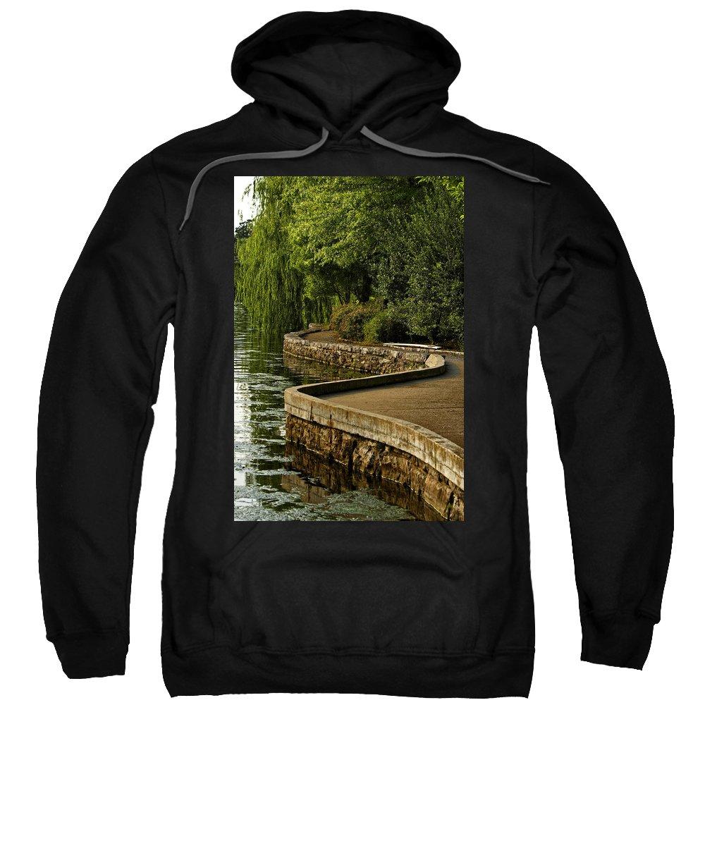 Centennial Park Sweatshirt featuring the photograph Centennial Park by Diana Powell