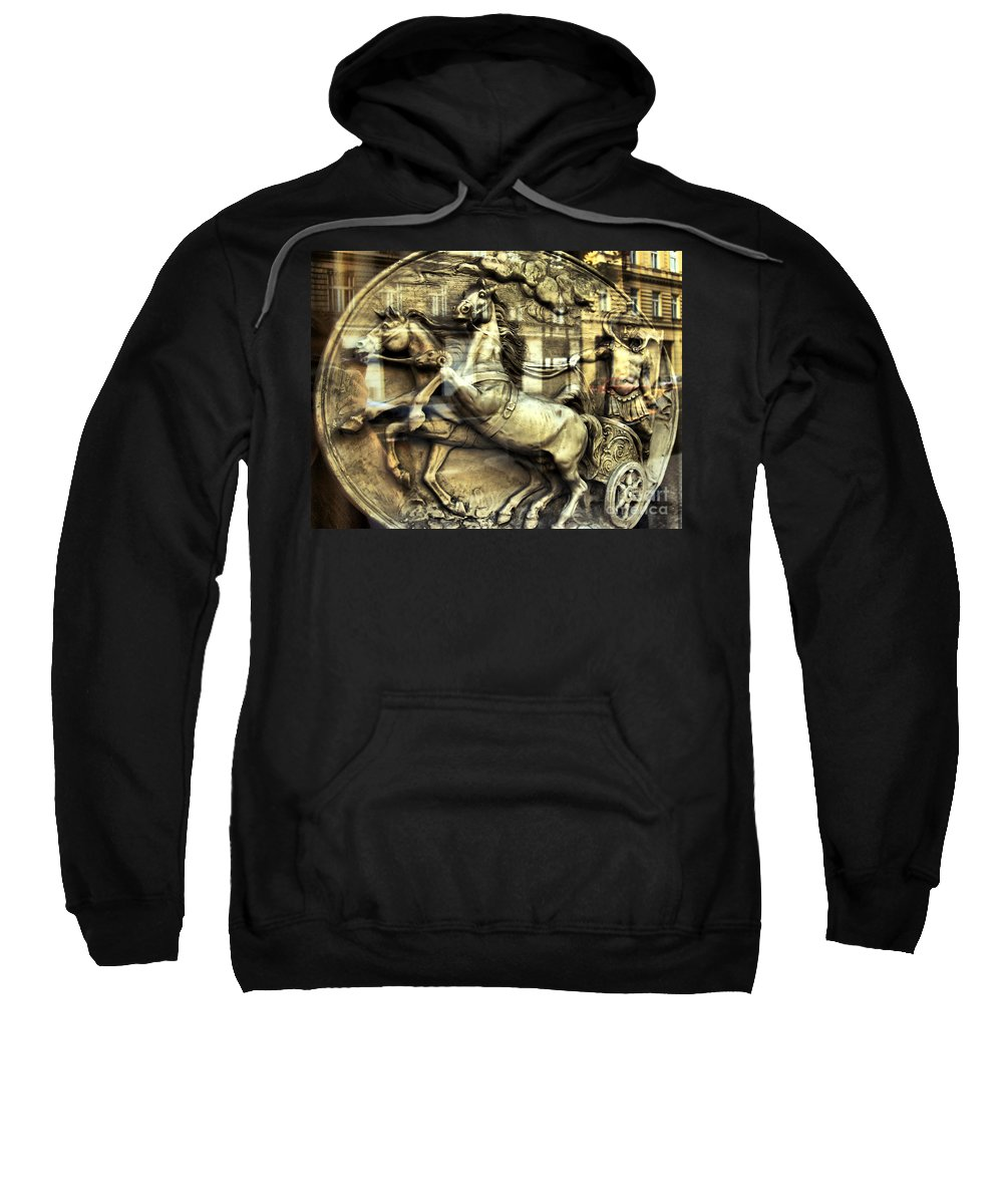 Chariot Sweatshirt featuring the photograph Chariot by Justyna JBJart