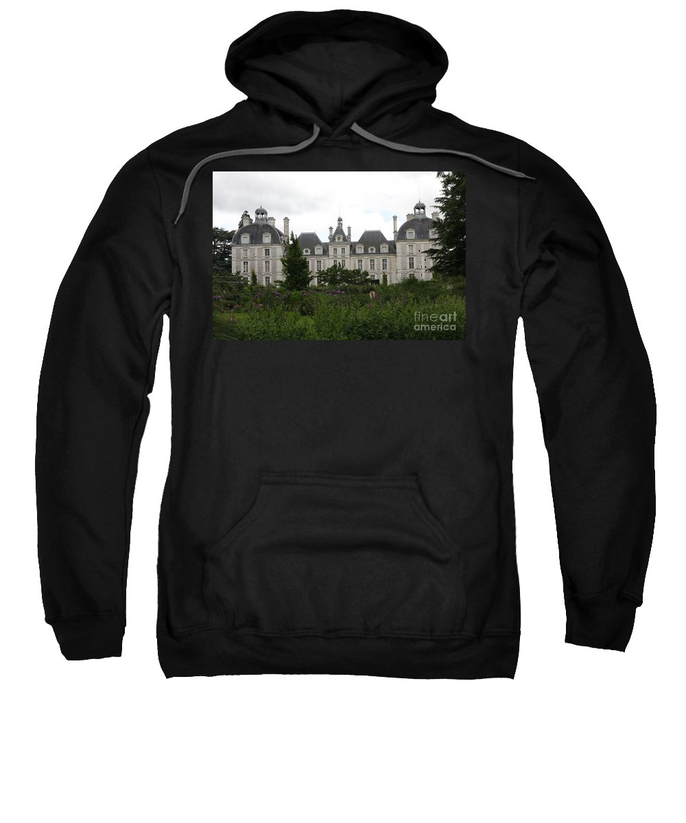 Palace Sweatshirt featuring the photograph Chateau Cheverney by Christiane Schulze Art And Photography