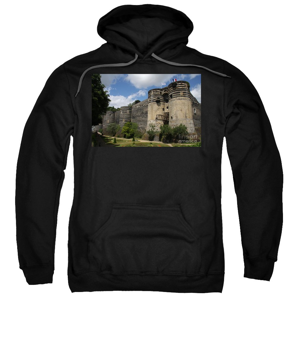 Castle Sweatshirt featuring the photograph Chateau D'angers - The Keep by Christiane Schulze Art And Photography