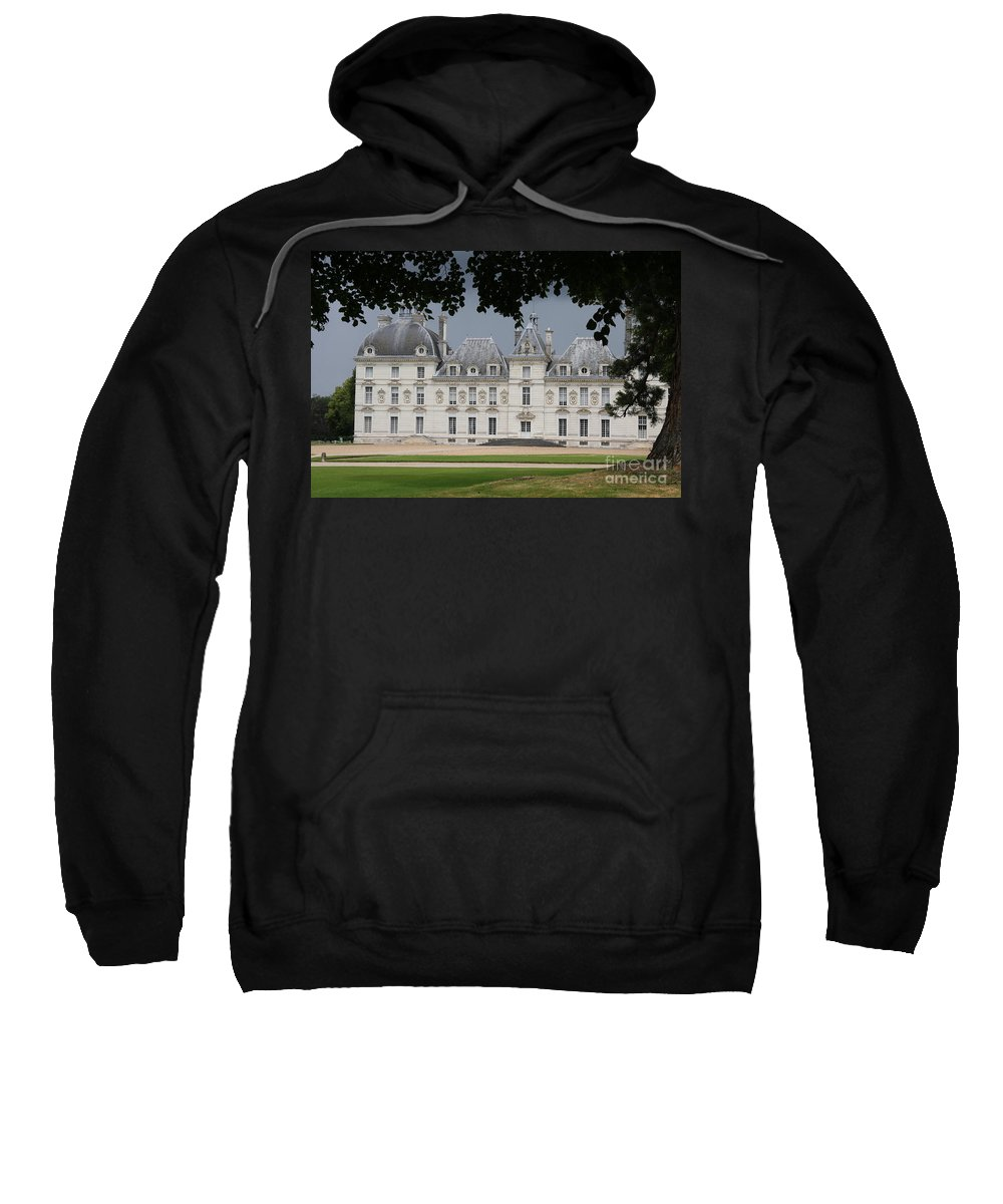 Palace Sweatshirt featuring the photograph Chateau De Cheverny - France by Christiane Schulze Art And Photography