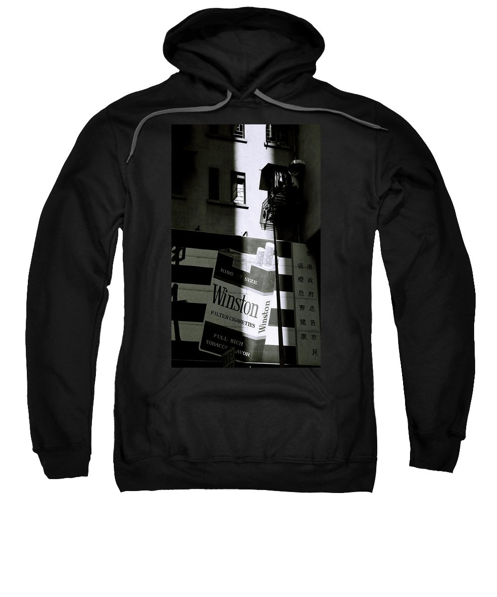 Commercial Sweatshirt featuring the photograph Chiaroscuro by Shaun Higson