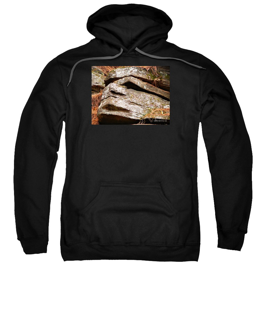 Chin Up Sweatshirt featuring the photograph Chin Up by Chris Sotiriadis