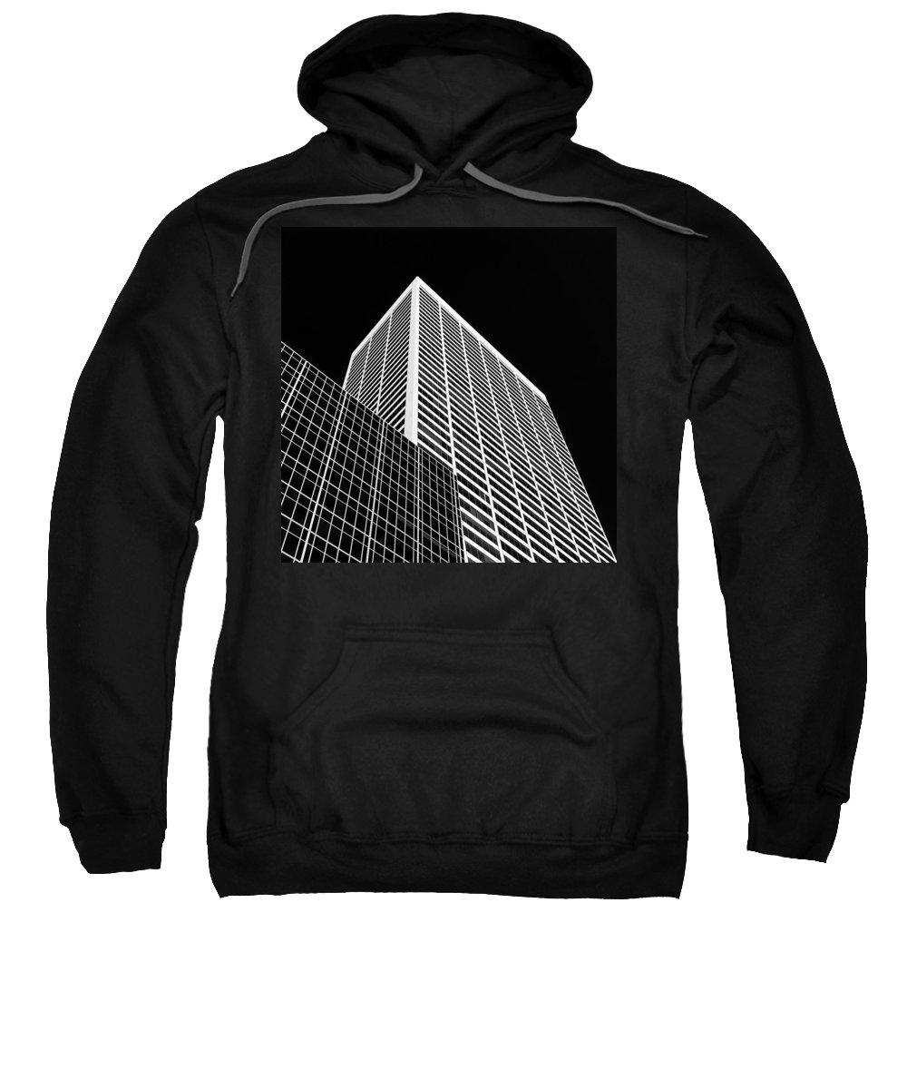 W.r. Grace Building Sweatshirt featuring the photograph City Relief by Dave Bowman
