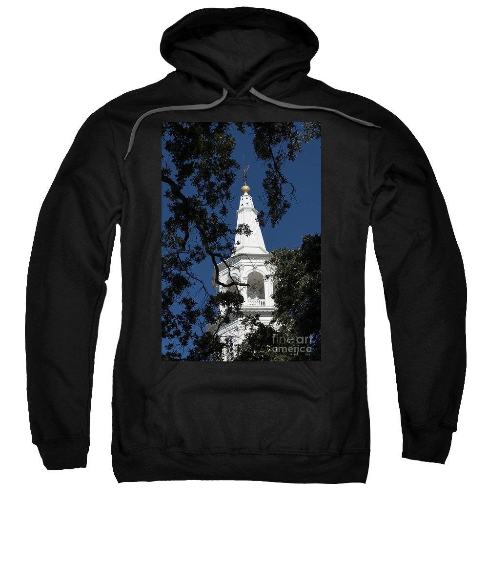 Church Sweatshirt featuring the photograph Classic Charleston by Bruce Bain