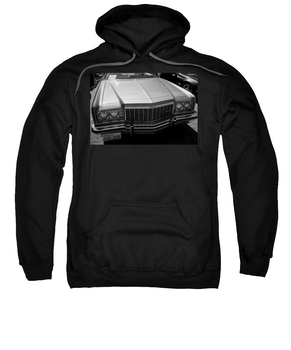 Sweatshirt featuring the photograph Classic Chevy Caprice by Cathy Anderson