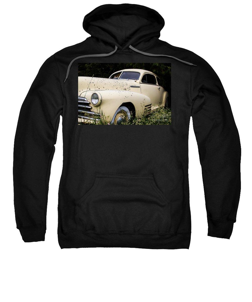 Fleetline Sweatshirt featuring the photograph Classic Fleetline Car by Nikki Vig