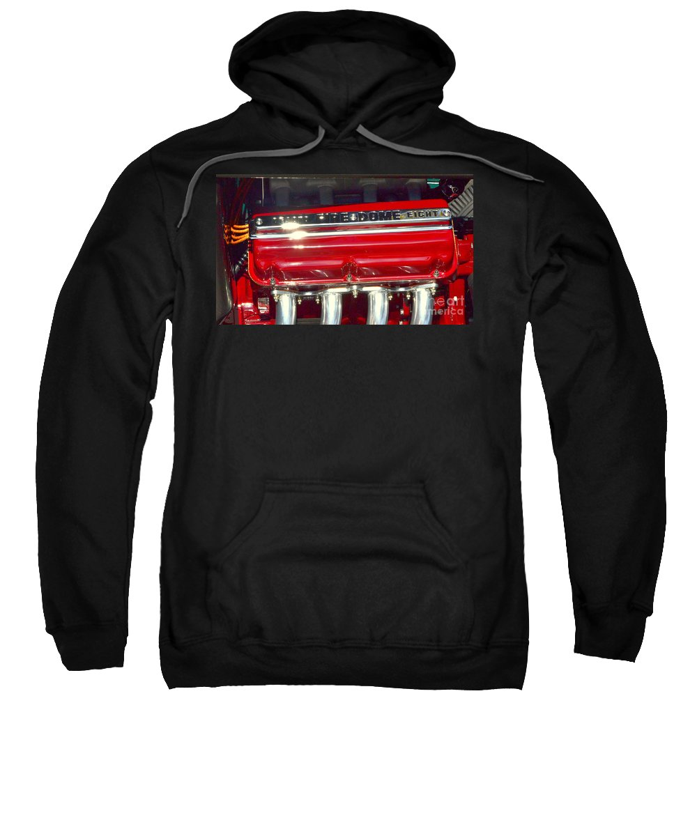 Sweatshirt featuring the photograph Classic V-8 by Dean Ferreira