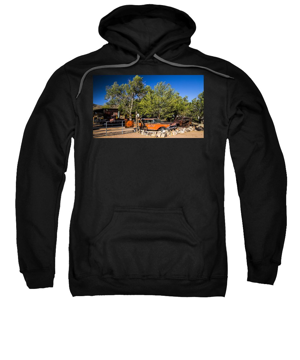 Route 66 Sweatshirt featuring the photograph Classics by Angus Hooper Iii