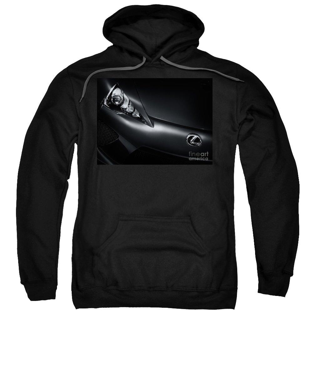 Lexus Sweatshirt featuring the photograph Closeup Of Lexus Lfa Car by Oleksiy Maksymenko