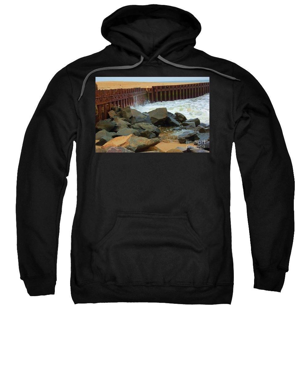 Water Sweatshirt featuring the photograph Coast Of Carolina by Debbi Granruth