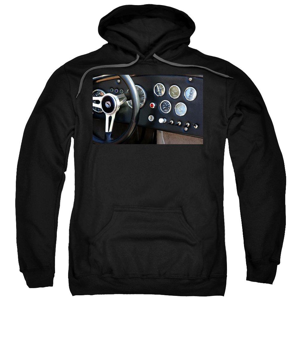 Cobra Sweatshirt featuring the photograph Cobra Dash by Joe Kozlowski