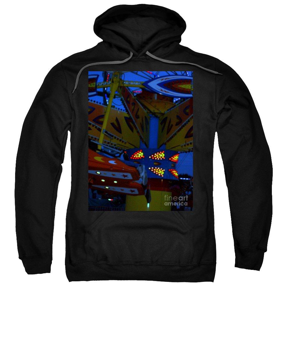 Picasa Sweatshirt featuring the photograph Color Bam by Laurette Escobar