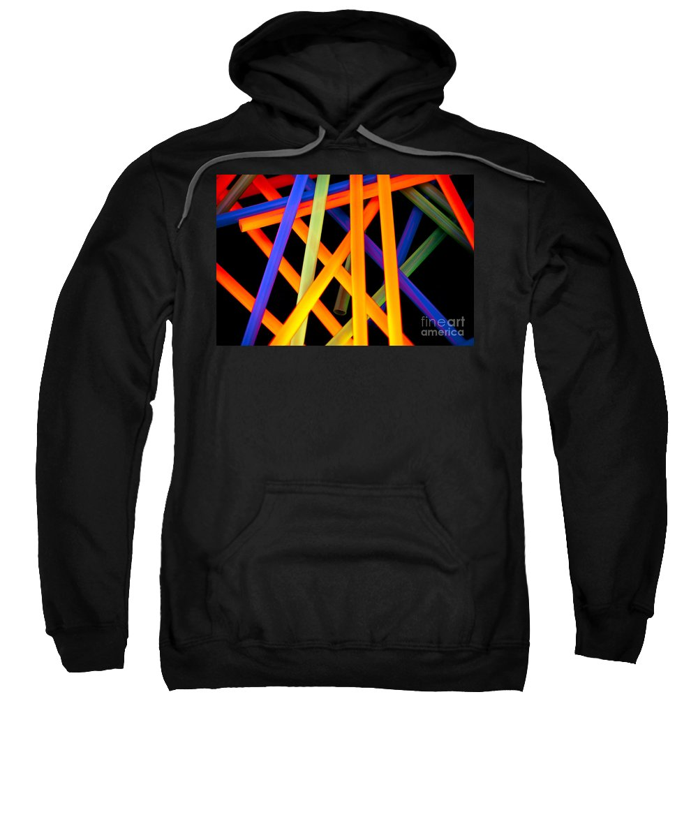 Color Sweatshirt featuring the photograph Coloring Between The Lines by Charles Dobbs