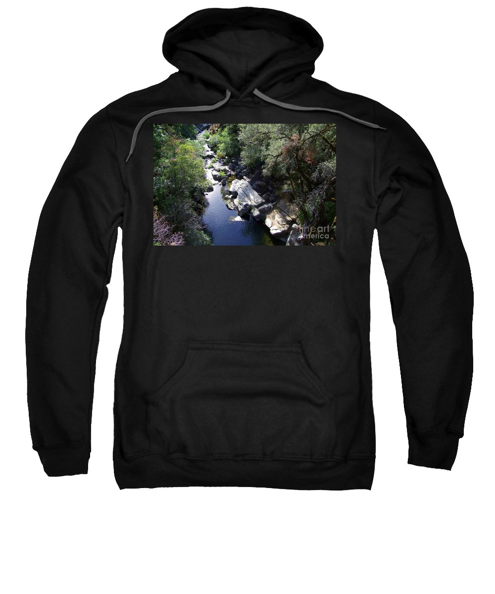 Creek Sweatshirt featuring the photograph Cool Mountain Creek by Mary Deal
