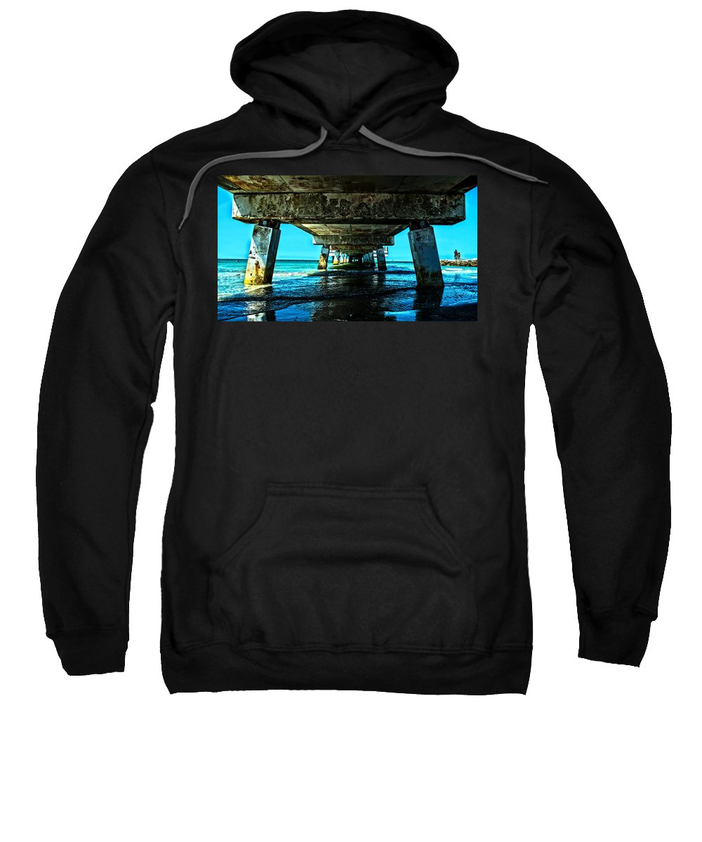 Saint Petersburg Sweatshirt featuring the photograph Corrosion Washed by Along The Trail